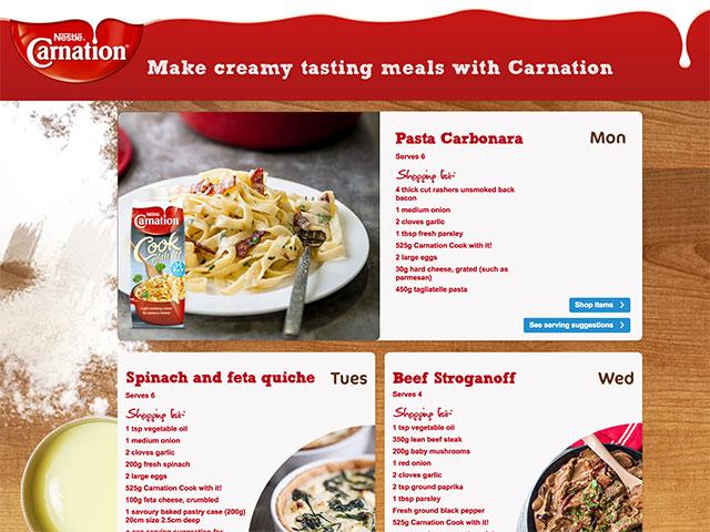 Work desire portfolio of darren greer freelance ui front tesco real food carnation forumfinder Images
